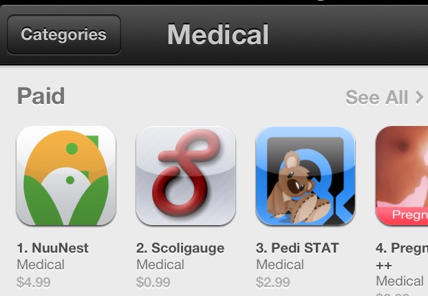 #1 on the App Store!!
