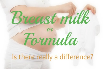 Yes, there are differences between breast milk and formula. This post explains key differences.