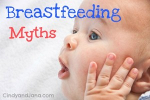 Breastfeeding myths