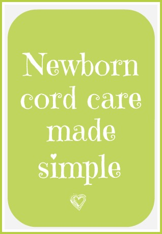 Newborn nurses explain how to care for baby's umbilical cord.