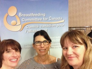 Tidbits Jana learned at the Breastfeeding Committee for Canada National Baby Friendly Initiative (BFI) conference