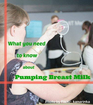 Everything you need to know about pumping breast milk.