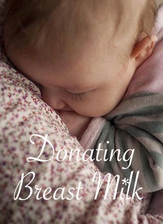 DonatingBreastMilk